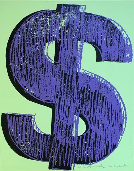 Andy Warhol, $ (1) (FS IIA.274), 1982