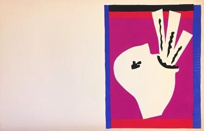 """Lavaleur de Sabres / The Sword Swallower (aus """"Jazz"""") von Henri Matisse"""