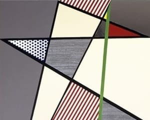 Imperfect Diptych von Roy Lichtenstein