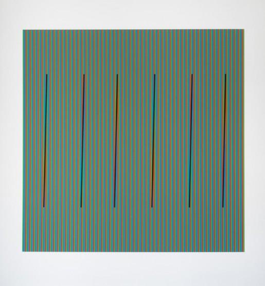 Carlos Cruz-Diez, Color al Espacio Fanal, 2014