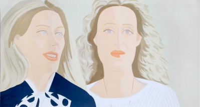 Alex Katz, Julia And Alexandra, 1983