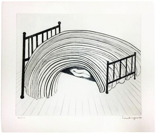 Louise Bourgeois, Bed, 1997