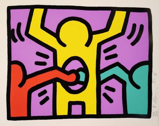 Keith Haring, Pop Shop I (1), 1987