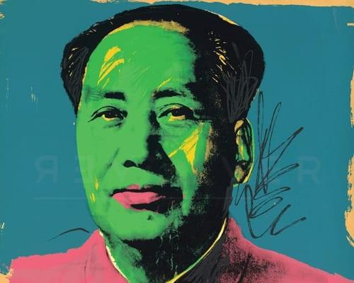 Mao (FS II.93) von Andy Warhol