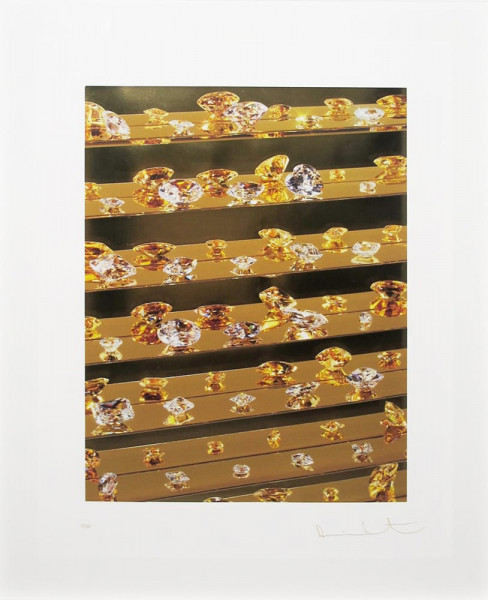 Damien Hirst, Gold Tears, 2012