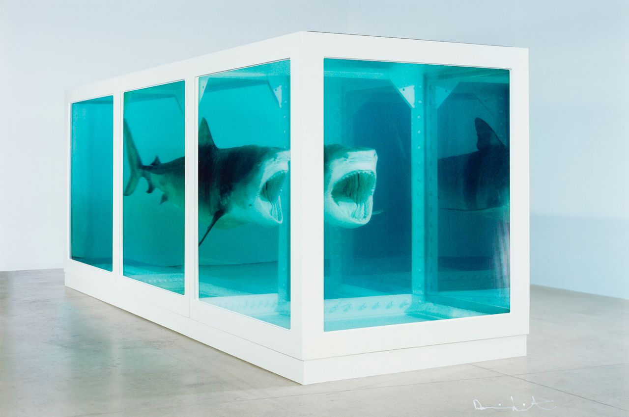 Damien Hirst, The Physical Impossibility of Death in the Mind of Someone Living, 2013, Lentikulardruck