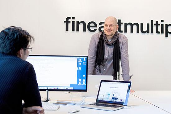 IT-Department: Juan José Galvez und Sascha Wohlgemuth